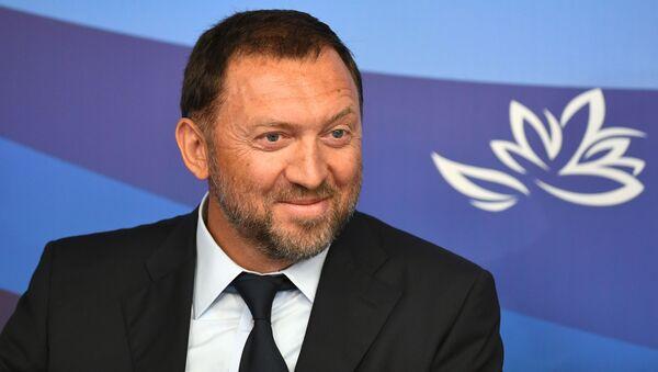 L'imprenditore e miliardario russo Oleg Deripaska, presidente, membro del CdA di RUSAL, presidente del consiglio di osservazione del gruppo di aziende Basovyj Element - Sputnik Italia