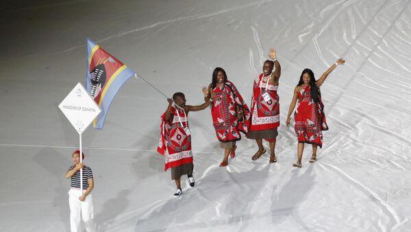 La nazionale del Regno di Eswatini alle Universiadi di Napoli 2019 - Sputnik Italia