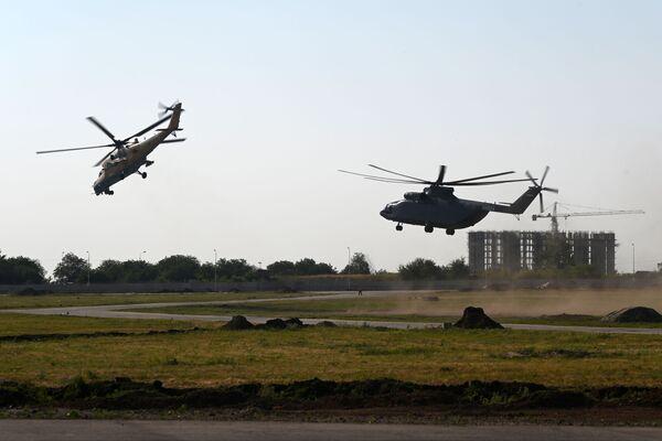 L'elicottero da trasporto militare Mil Mi-26Т2 - Sputnik Italia