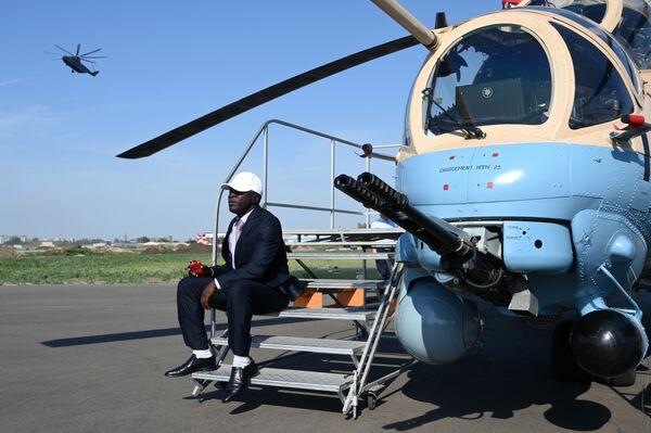 L'elicottero da attacco Mil Mi-35М - Sputnik Italia