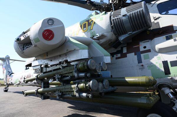 L'elicottero d'attacco Mil Mi-28NE Cacciatore Notturno  - Sputnik Italia
