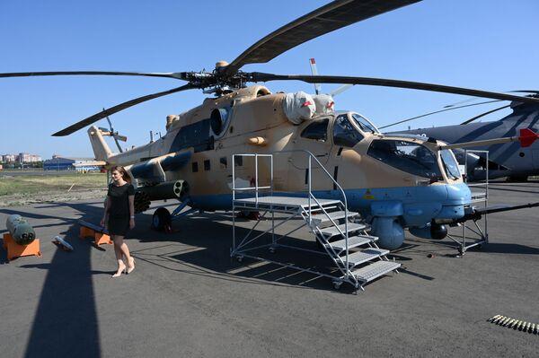 L'elicottero da trasporto Mil Mi-35M - Sputnik Italia