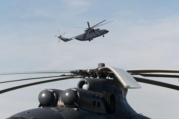 L'elicottero da trasporto Mil Мi-26Т2 - Sputnik Italia