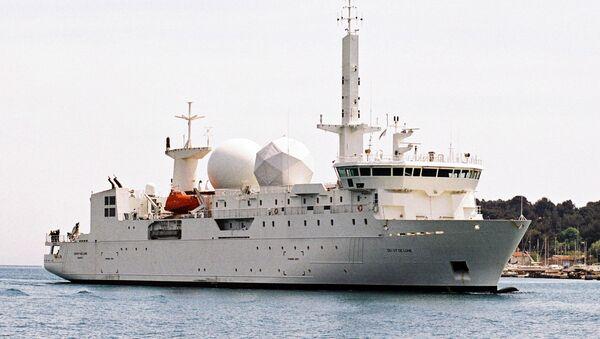 La nave francese da spionaggio A759 Dupuy de Lome  - Sputnik Italia