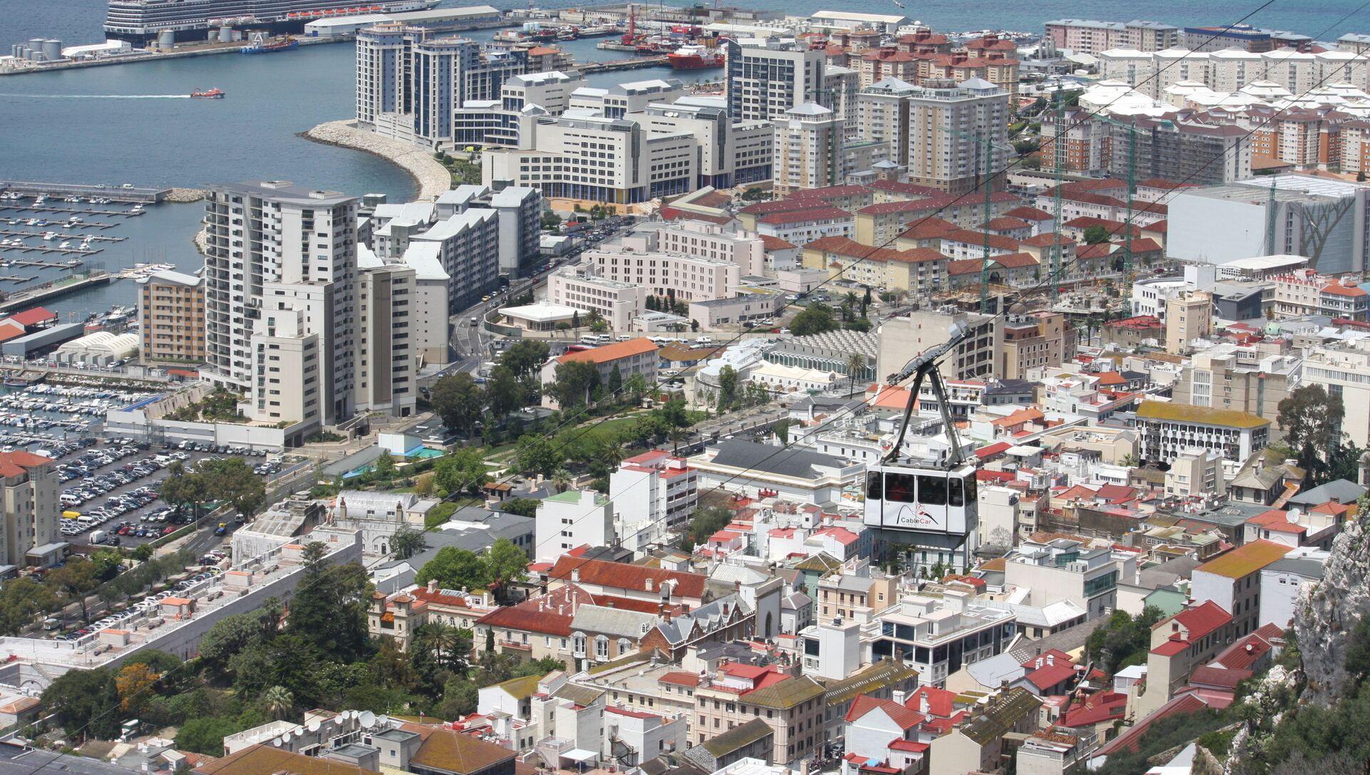 Vista sul porto di Gibilterra - Sputnik Italia, 1920, 18.03.2021