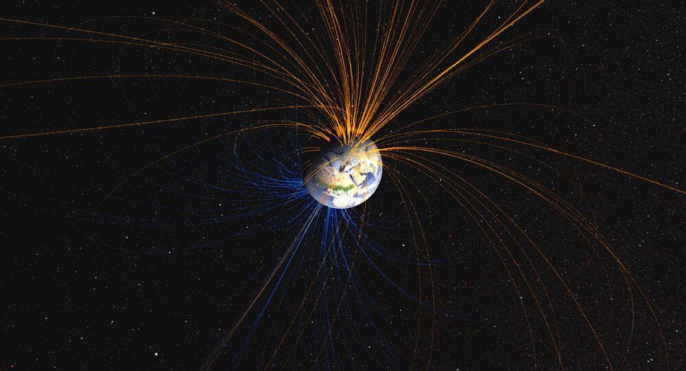 Il campo magnetico della Terra