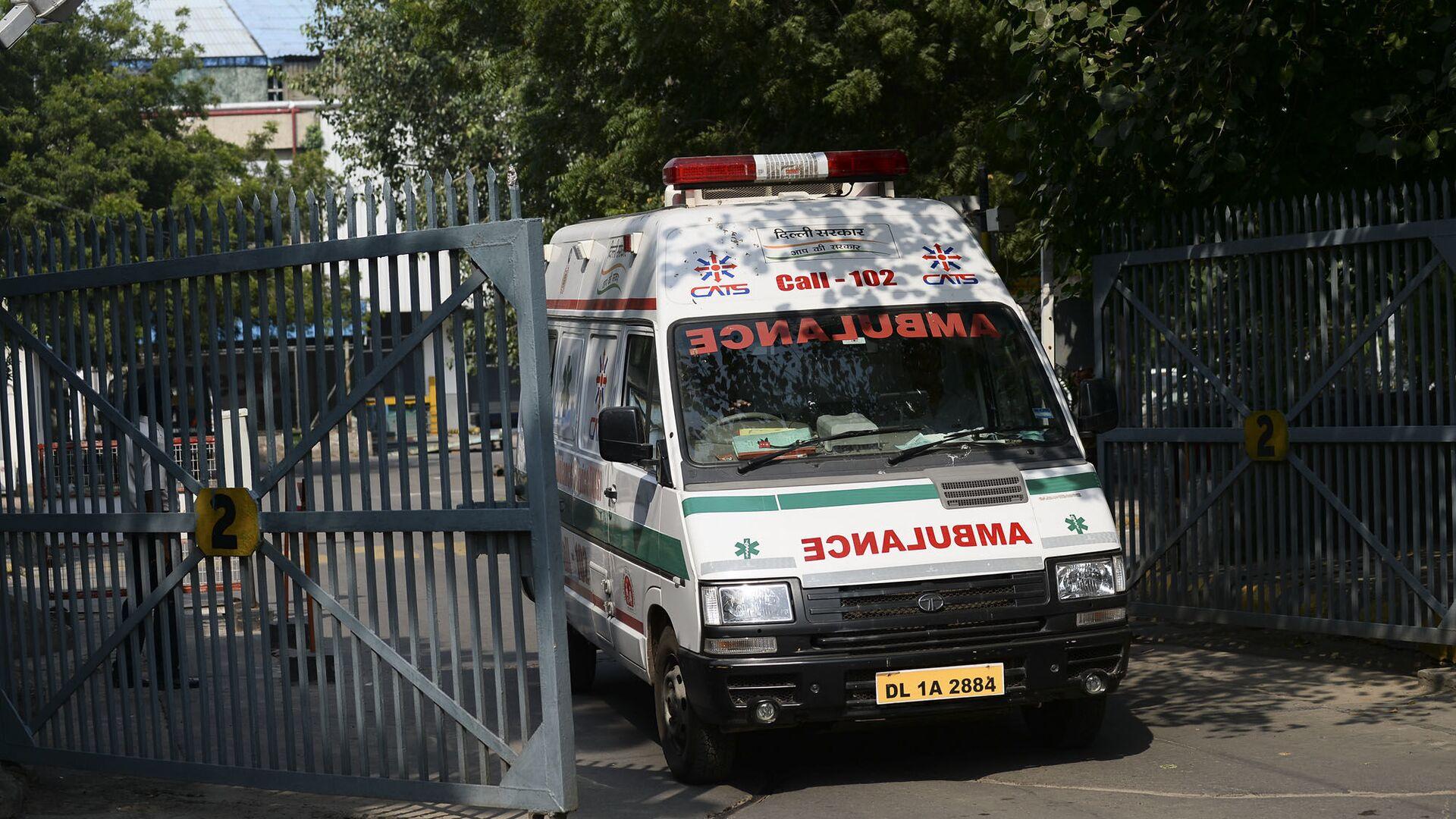 Ambulanza in India - Sputnik Italia, 1920, 28.07.2021