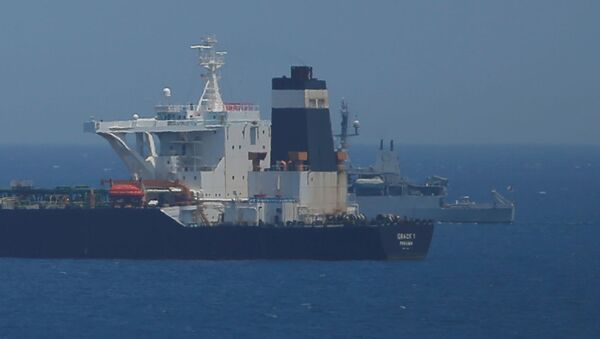 La petroliera Grace 1, sequestrata a Gibilterra - Sputnik Italia