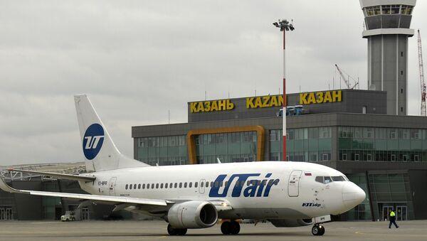 Aereo della compagnia UTair all'aeroporto di Kazan - Sputnik Italia