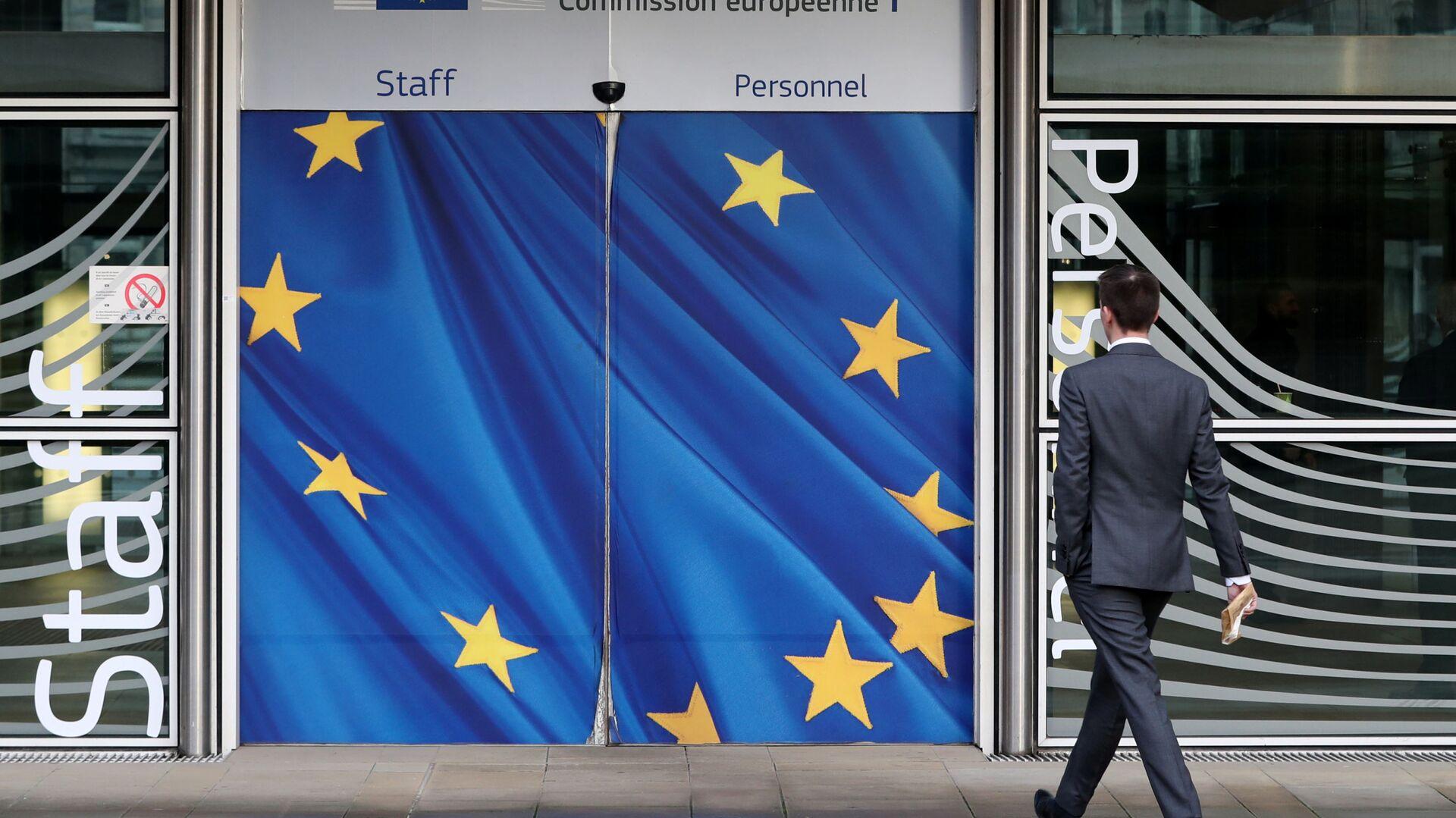 Il quartier generale della Commissione Europea a Bruxelles - Sputnik Italia, 1920, 07.07.2021