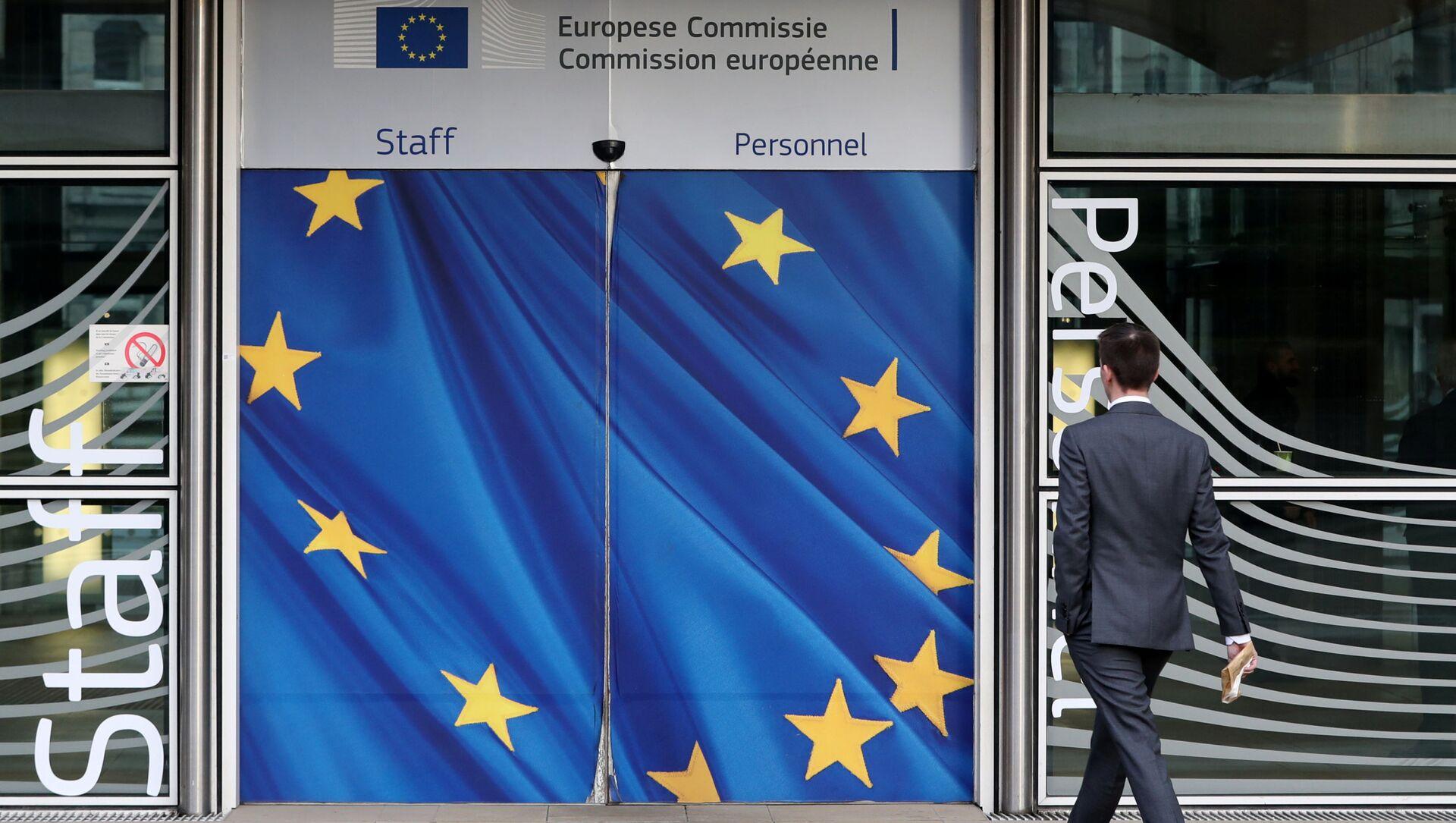 Il quartier generale della Commissione Europea a Bruxelles - Sputnik Italia, 1920, 01.03.2021