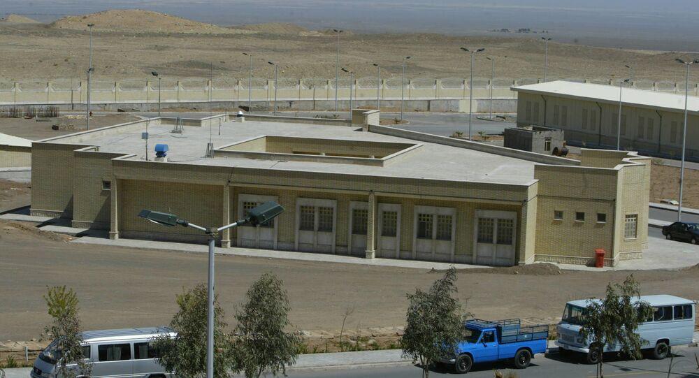 Centrale nucleare di Natanz, Iran