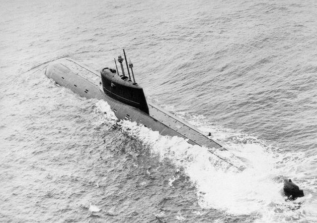 Il sottomarino nucleare sovietico Komsomolets
