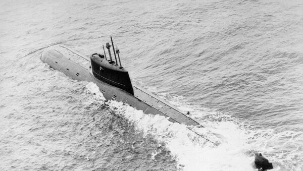 Il sottomarino nucleare sovietico Komsomolets - Sputnik Italia