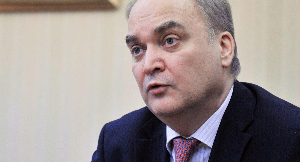 Ambasciatore della Russia negli Stati Uniti Anatoly Antonov