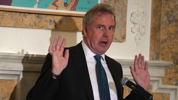 L'ambasciatore del Regno Unito in USA Kim Darroch - Sputnik Italia