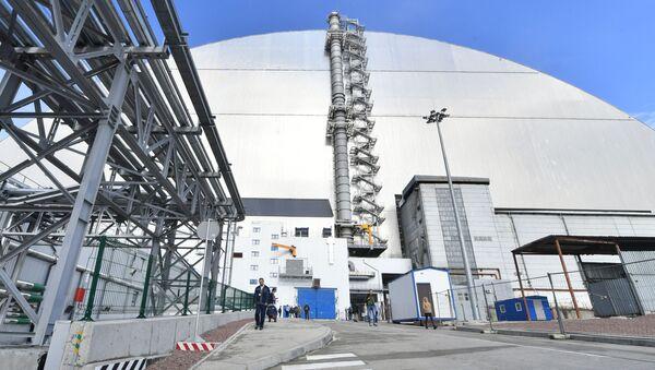 Il nuovo sarcofago che copre il reattore 4 della centrale nucleare di Chernobyl - Sputnik Italia