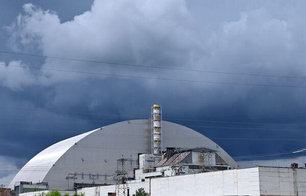 Il nuovo sarcofago sul reattore 4 della centrale nucleare di Chernobyl - Sputnik Italia
