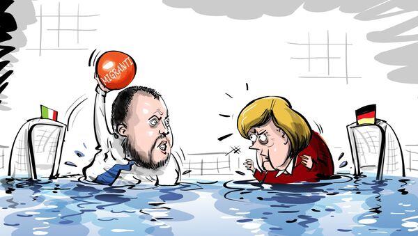 Prosegue il duello ingaggiato dal governo italiano contro le ong - Sputnik Italia