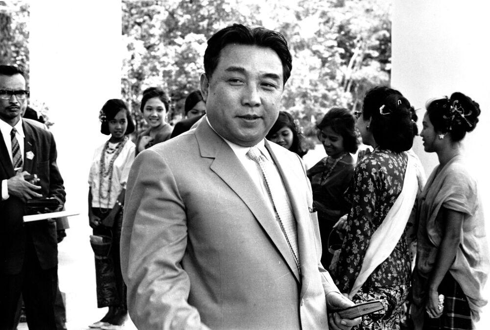 Kim Il Sung nel 1965