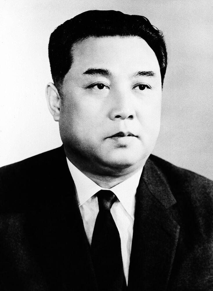 Kim Il Sung nel 1962
