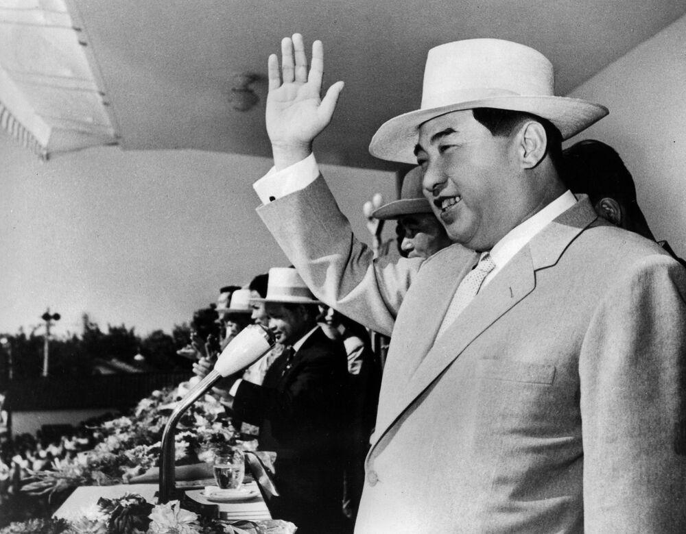 Kim Il Sung nel 1964