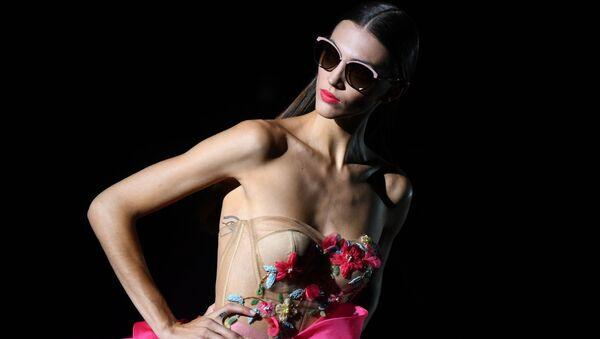 Il Mercedes Benz Fashion Week a Madrid. - Sputnik Italia