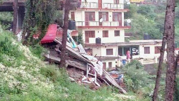 Edificio crollato in India - Sputnik Italia