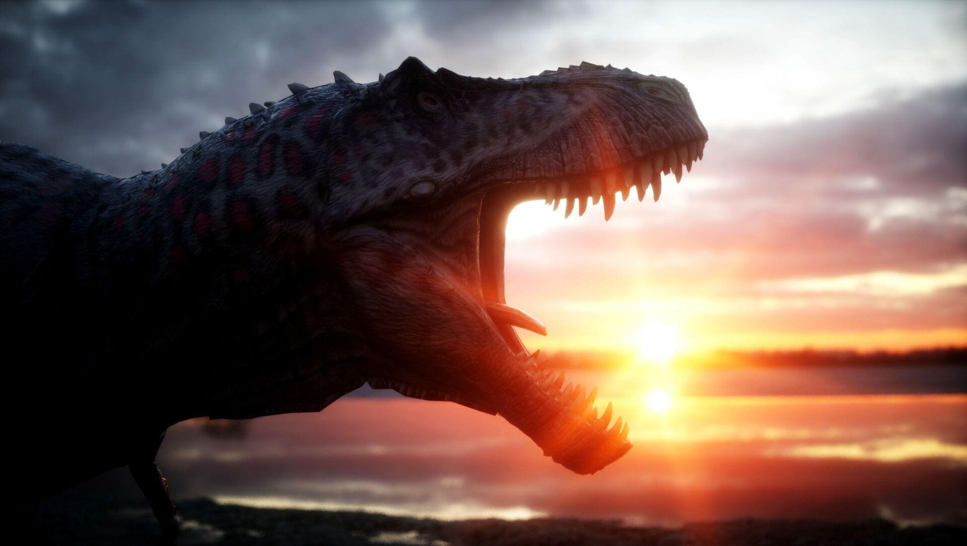 Dinosauro al tramonto - Sputnik Italia, 1920, 17.02.2021