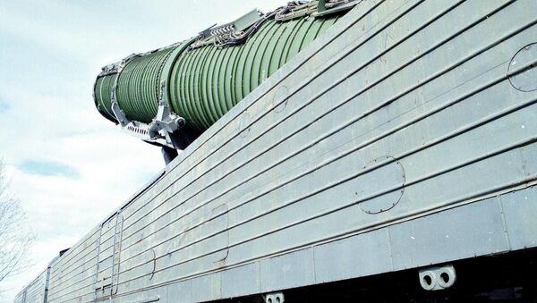 Il sistema missilistico ferroviario da combattimento - Sputnik Italia