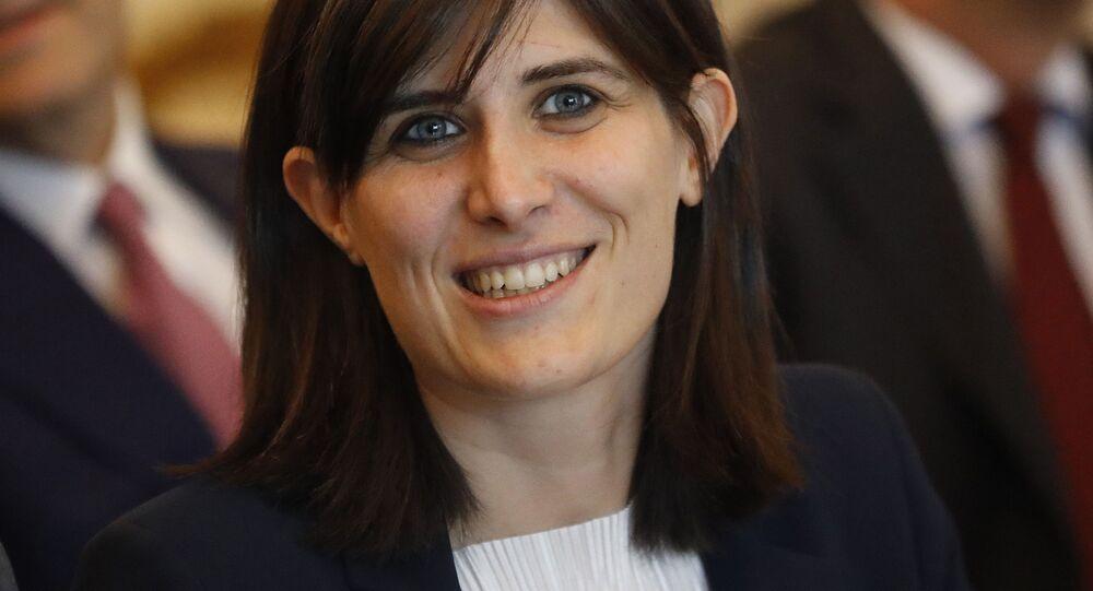 Il sindaco di Torino Chiara Appendino