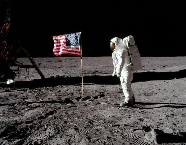 Il secondo uomo sulla Luna, Buzz Aldrin - Sputnik Italia