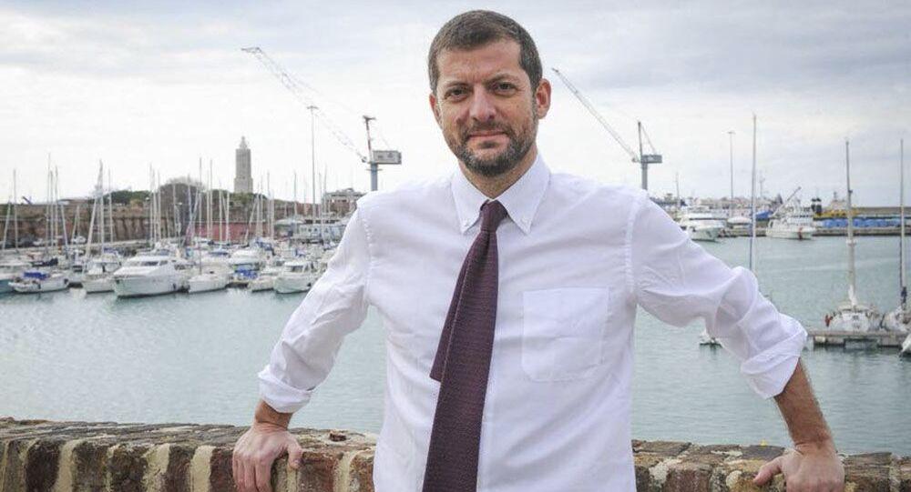 Deputato del PD Andrea Romano