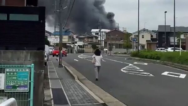 Incendio in uno studio anime a Kyoto, Giappone - Sputnik Italia