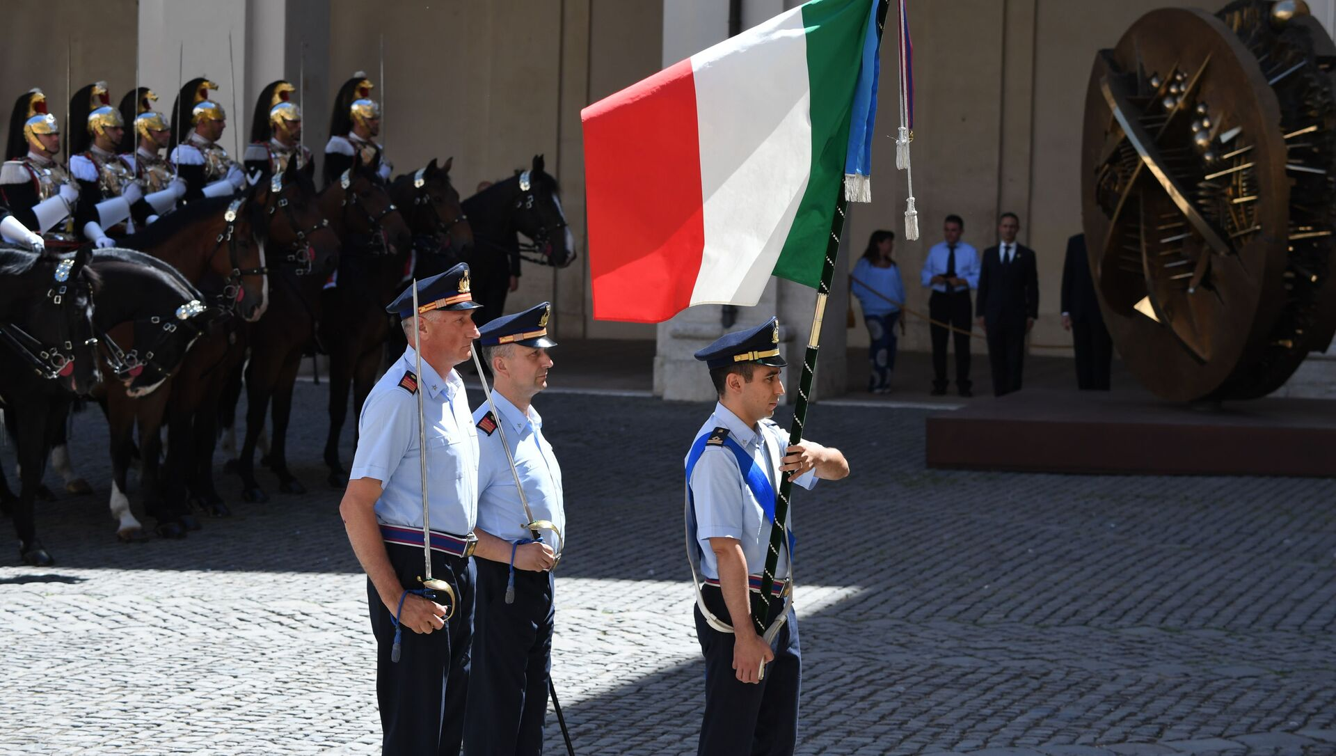 Bandiera italiana - Sputnik Italia, 1920, 22.02.2021