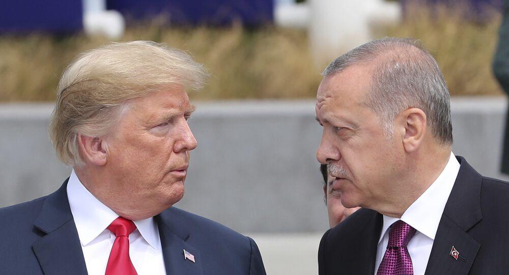 Trump ed Erdogan (foto d'archivio)