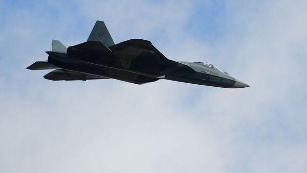 Il caccia multiruolo russo Su-57 - Sputnik Italia