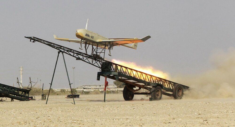 Un drone dell'Iran