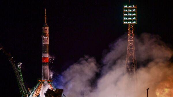 Il lancio della Spedizione della Stazione Spaziale Internazionale (ISS) 60-61 a bordo della navicella Soyuz MS-13 - Sputnik Italia