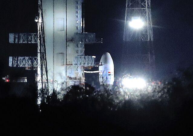 Il lancio della missione indiana Chandrayaan-2