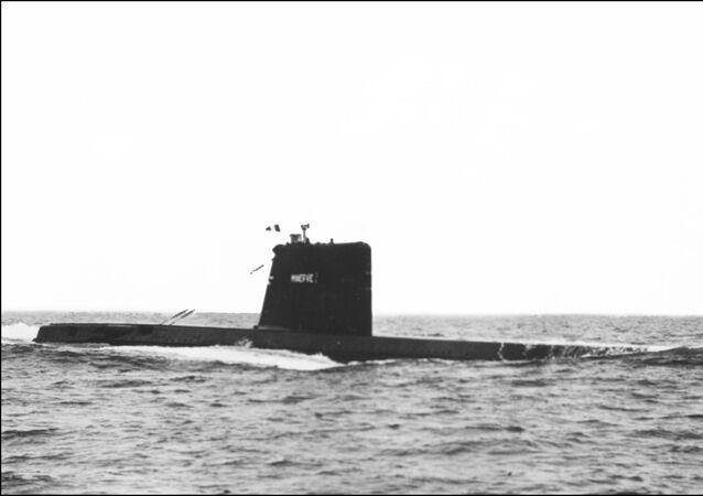 Il sottomarino franceseMinerve, sparito nel 1968