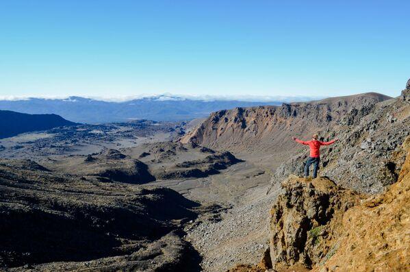 Il Parco nazionale del Tongariro in Nuova Zelanda.  - Sputnik Italia