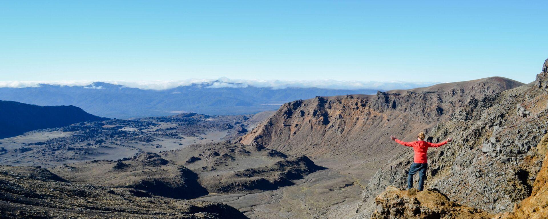 Il Parco nazionale del Tongariro in Nuova Zelanda.  - Sputnik Italia, 1920, 24.01.2021