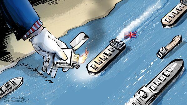 Tensione tra Iran, Regno Unito e USA dopo serie di sequestri di petroliere - Sputnik Italia