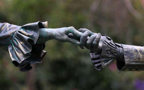 La danza barocca al Festival Statues en Marche. - Sputnik Italia