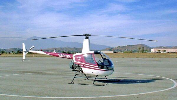 Elicottero ultraleggero tipo Robinson - Sputnik Italia