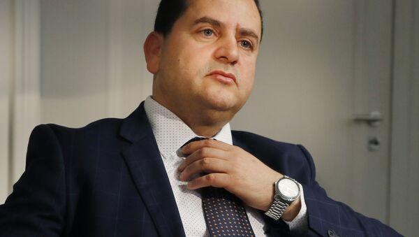 Abdulhadi Ibrahim Lahweej, ministro degli Esteri e della Cooperazione internazionale del Governo provvisorio libico - Sputnik Italia