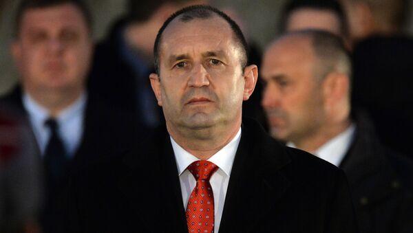 Il presidente della Bulgaria Ramen Radev - Sputnik Italia