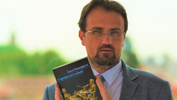 """Luca Nannipieri, storico dell'arte, autore del saggio """"Capolavori rubati""""  - Sputnik Italia"""