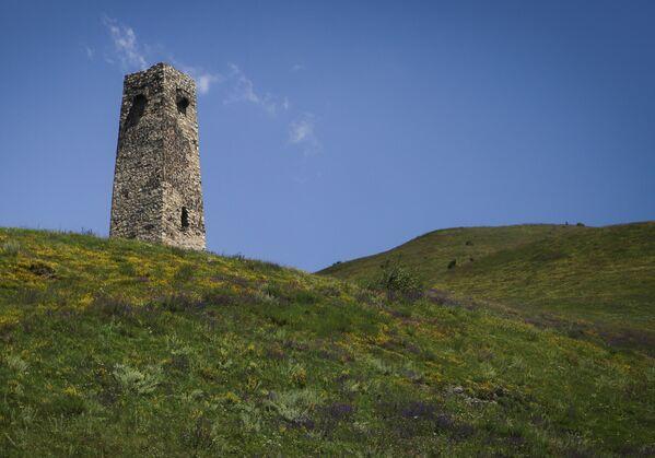 Una torre sul territorio della Città dei morti. - Sputnik Italia